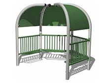 4 Pod Teen Shelter