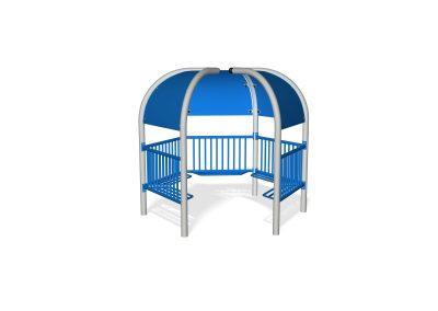 5 Pod Teen Shelter