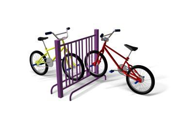 6 Way Cycle Rack