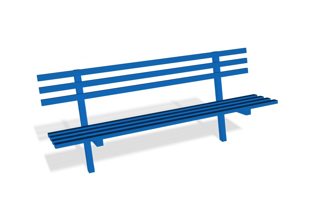 York Bench with Back