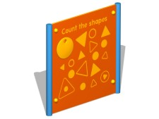 Count The Shapes Activity Panel