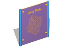 Crazy Maze Activity Panel