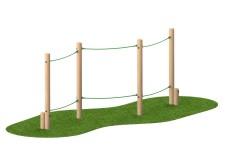 Slalom Rope Walk
