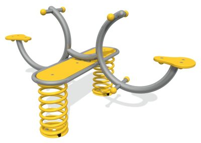 Curve Spring Seesaw