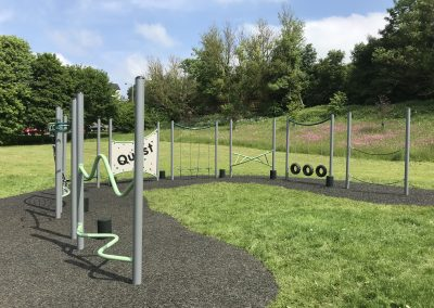 Take the Challenge at Fisher Lane Park