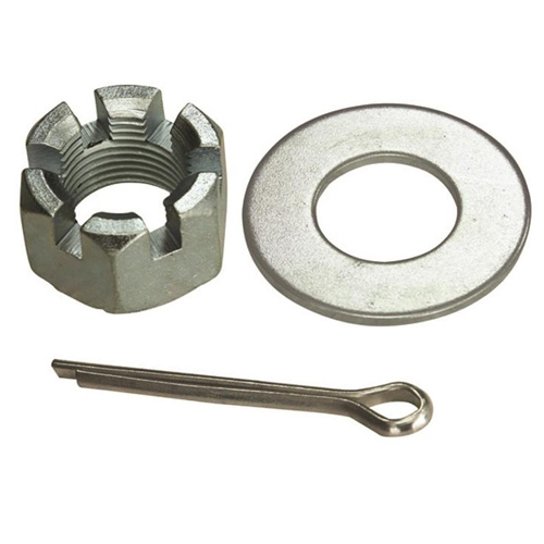 head lock nut washer and pin