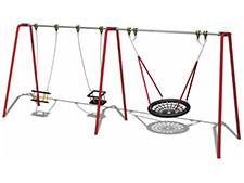 2 Seat Cradle/Basket Swing