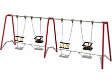 4 Seat Cradle Swing
