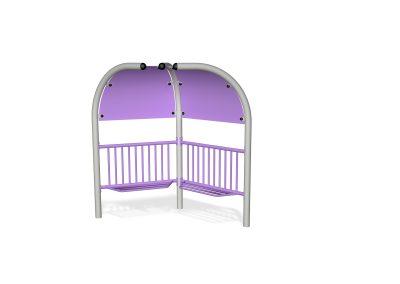 2 Pod Teen Shelter