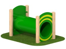 Free Standing Tunnel