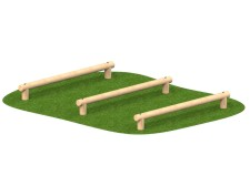 Log Hops (Set of Three)