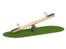 Timber Seesaw