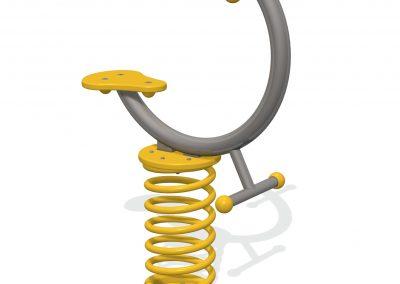 Curve Sit-On Springer